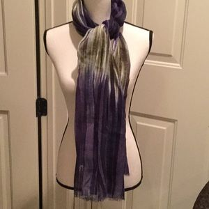 Lucky Brand Cotton Long Scarf